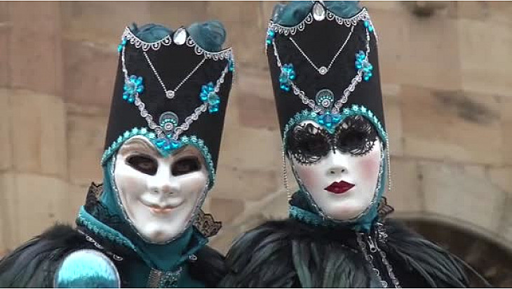 Le Carnaval Vénitien de Rosheim (67)  a fêté ses 10 ans