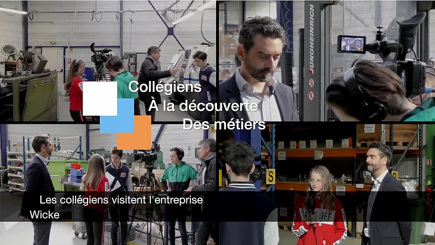 La Journée des Entreprises : Les collégiens découvrent l'univers de Wicke