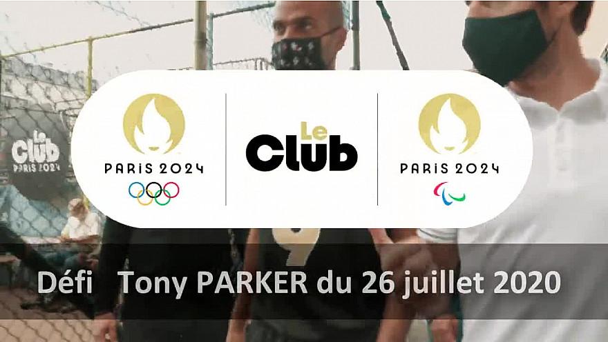 Paris 2024 :  Le Club Paris 2024 est lancé !  le premier défi  avec Tony Parker  @Paris2024 @TonyEstanguet @tonyparker  @teddyriner